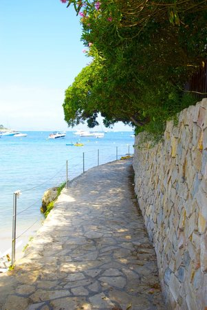 Le Sentier du Littoral, Cap d'Antibes (Starting Point)