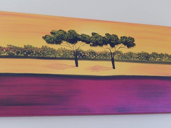 Parete Doro : Il tubero d oro quadro parete foto di il tubero d oro campli