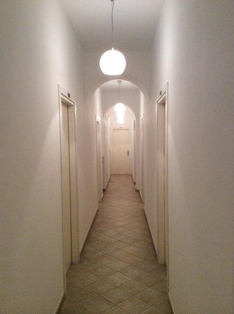 Hotel La Tosca: The coridor