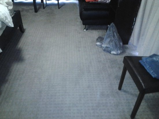 Ararat Colonial Lodge Motel: carpets very stained
