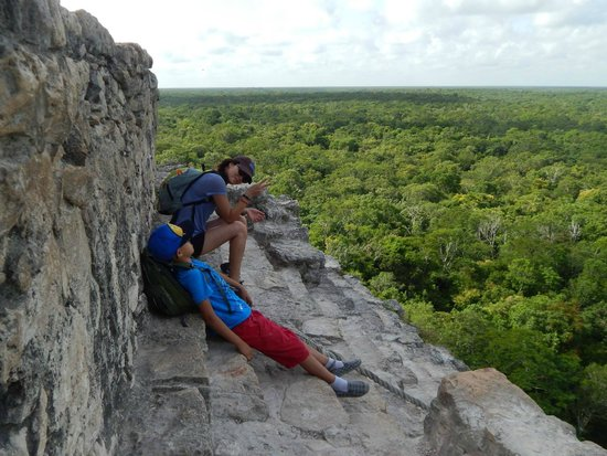 Coba Ruins: Made it to the top