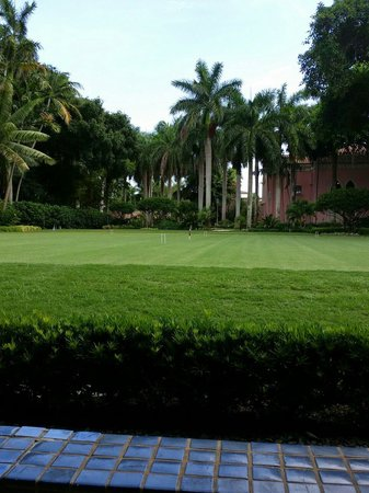 Boca Raton Resort, A Waldorf Astoria Resort: Croquet