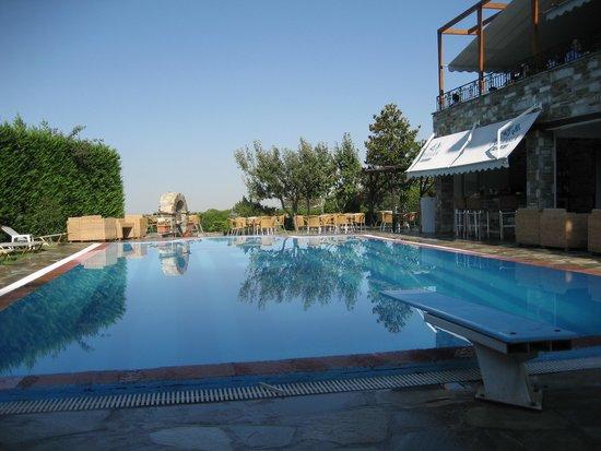 Portaria Hotel : Πισίνα και κήπος