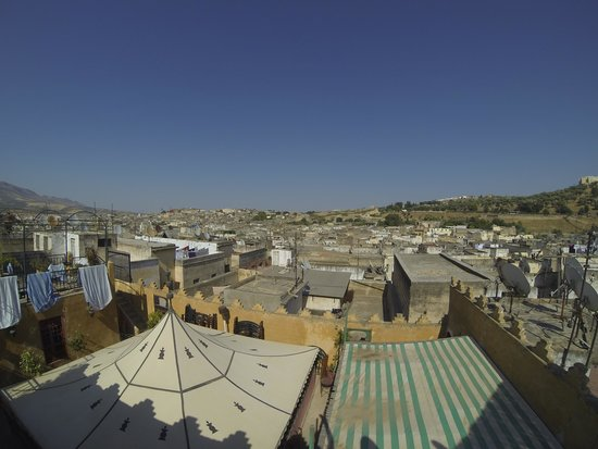 Funky Fes Hostel : view