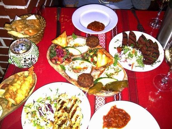 Karma Mediterranean Grill & Bistro: feel the heat