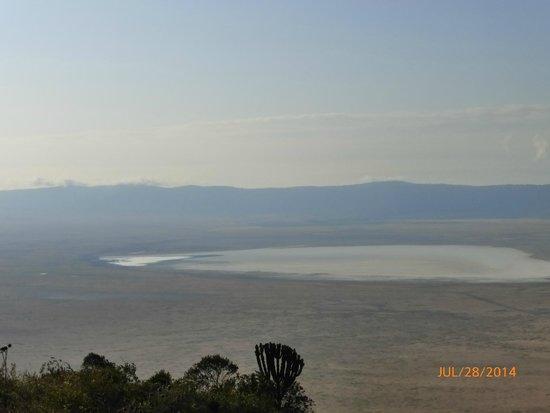 "Ngorongoro Serena Safari Lodge: View from our room of the ""caldera"""