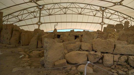 Templos Megalíticos Mnajdra: Tempio 1