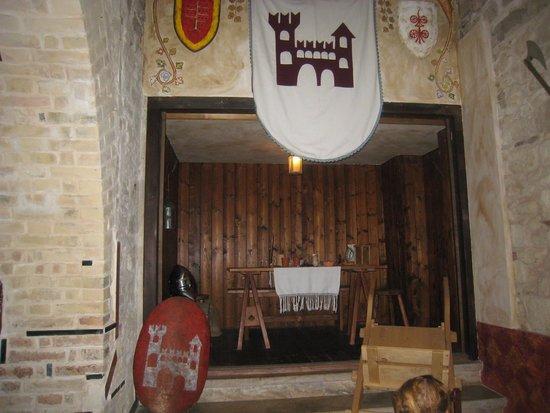 Locanda del Medioevo : interno della locanda