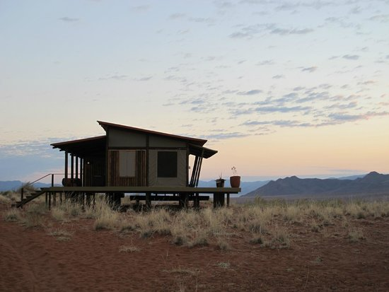 Wolwedans Dunes Lodge: our lodge