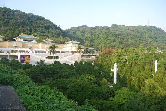 Museo del Palacio Nacional: The Museum is nestled into the mountains surrounding Taipei