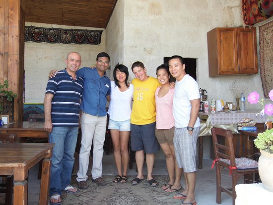Kismet Cave House: With Faruk & other buddies