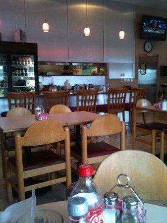Rick's Diner: Dining room