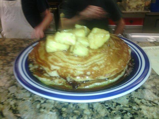 Rick's Diner: Sweet Hawaiian Pancakes