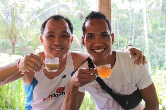 Mano Tour Guide Bali: With Ketut enjoying CatPooChino