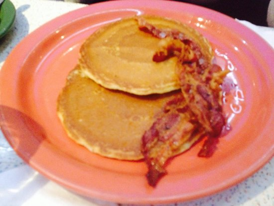 Tick Tock Diner : Bacon and pancakes