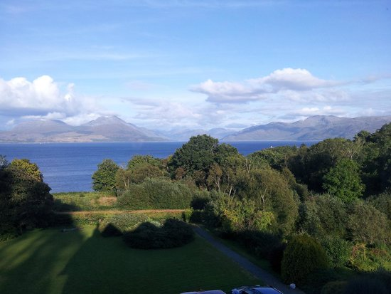 Duisdale House Hotel: View from our room