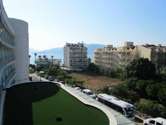 Casa De Maris Spa & Resort Hotel: вид с балкона номер 1307