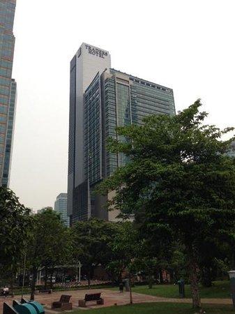 Traders Hotel, Kuala Lumpur : le Traders !