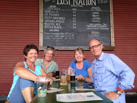 Lost Nation Brewing: Great place to meet friends.
