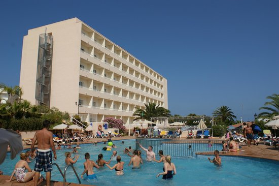 Invisa Hotel Ereso: View from the Childrens' pool
