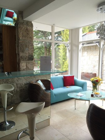 The Lamorna Cove Hotel : Cafe area