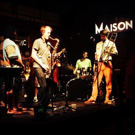 The Maison : The band Magnitude at Maison