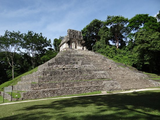 Palenque ruinas: Great temple