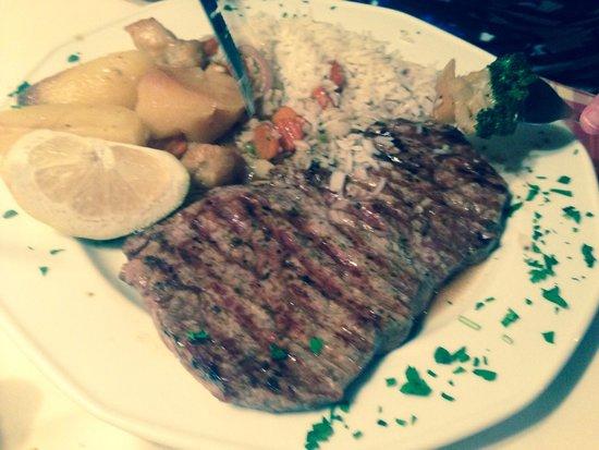 Captains Restaurant: Great steak