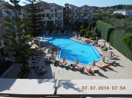 Pool at Contessina Hotel