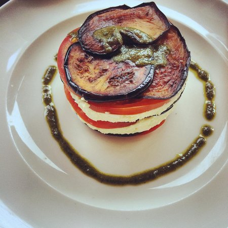 Grand Cafe De La Poste : Tomato, eggplant and ricotta - delish!