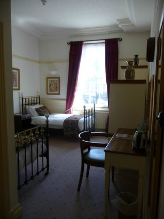 The Crown Hotel: The twin room in the family suite
