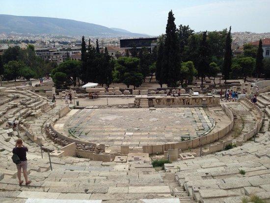 Theater of Dionysus: Театр Диониса
