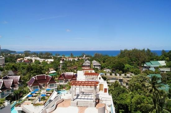 Pacific Club Resort : view from the roof