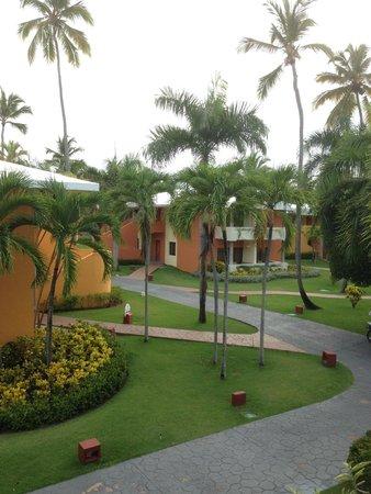 Iberostar Dominicana Hotel: vom Balkon aus unserer Junior-Suite