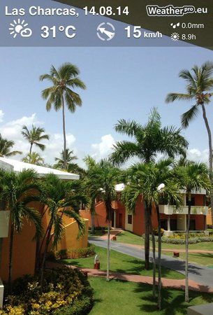 Iberostar Dominicana Hotel: Zimmeraussicht