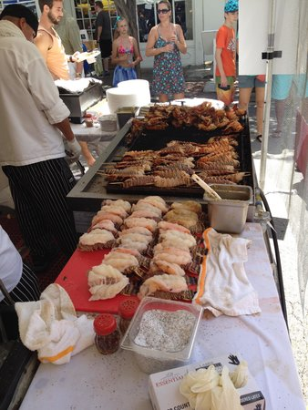 Orchid Key Inn : lobsterfest