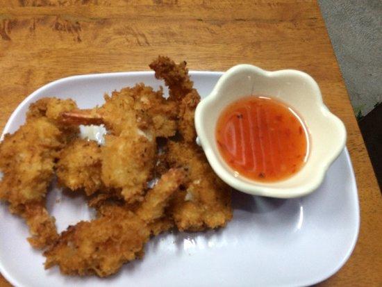 Lanta Restaurant: Shrimps tempura