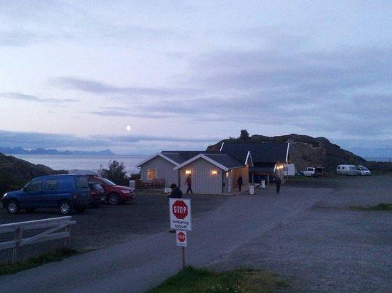 Moskenes Camping: Minuit au camping