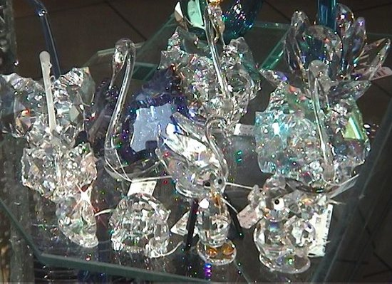 Bohemian crystal choose champagne glasses or chandelier youll celetna crystal aloadofball