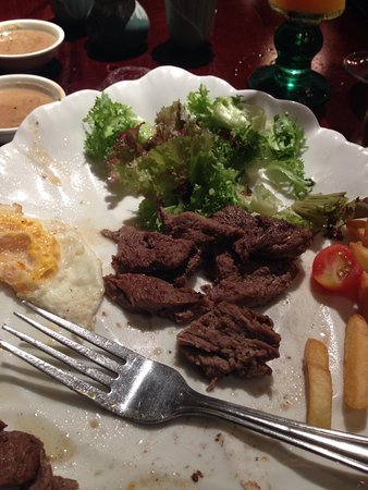 Nam Phan: Sad excuse for a steak.!