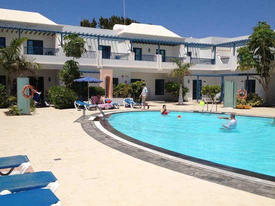 THB Tropical Island: Apartment pool