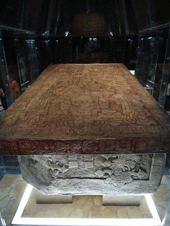 Palenque ruinas: Tomb of king Pakal