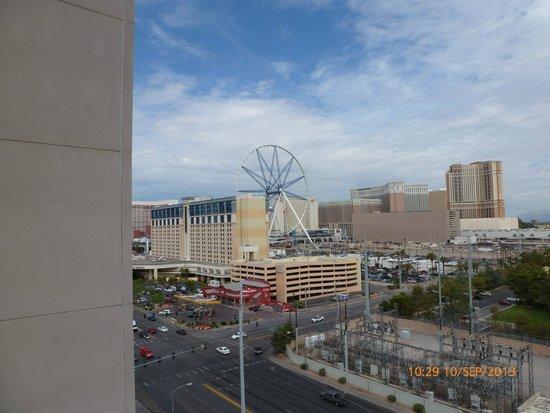 Platinum Hotel and Spa: vue depuis le balcon
