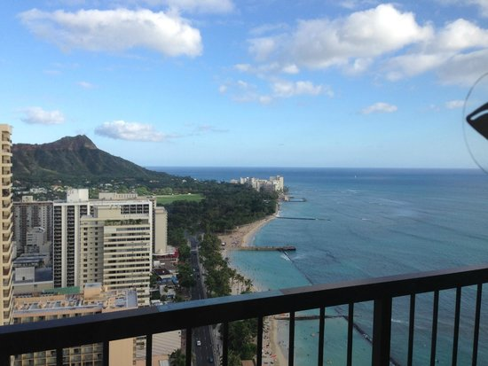 Hyatt Regency Waikiki Resort & Spa: ダイアモンドヘッドタワー37F