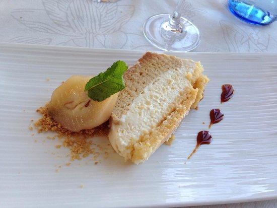 Sabores Restaurant : Flam de pera