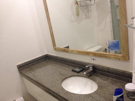Comfort Suites Flamboyant : Banheiro