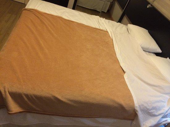 Cama de casal cobertor de solteiro economia porca for Cobertor cama