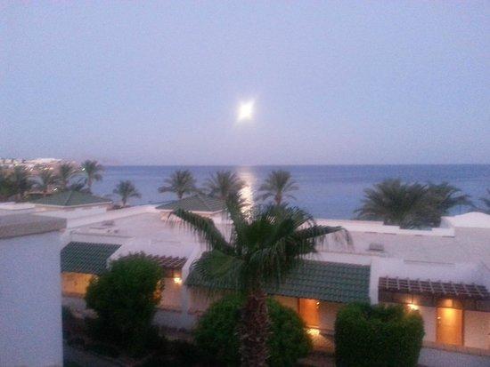 Hyatt Regency Sharm El Sheikh Resort : Moon View from Room
