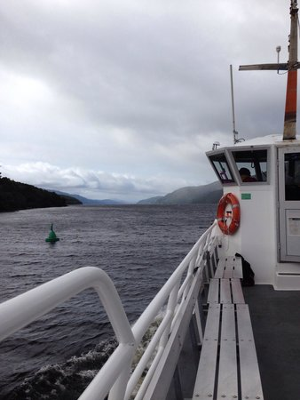 Loch Ness by Jacobite: Stunning views even on a overcast day :-)