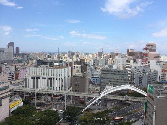 Mitsui Garden Hotel Chiba: 14F客室からの眺望